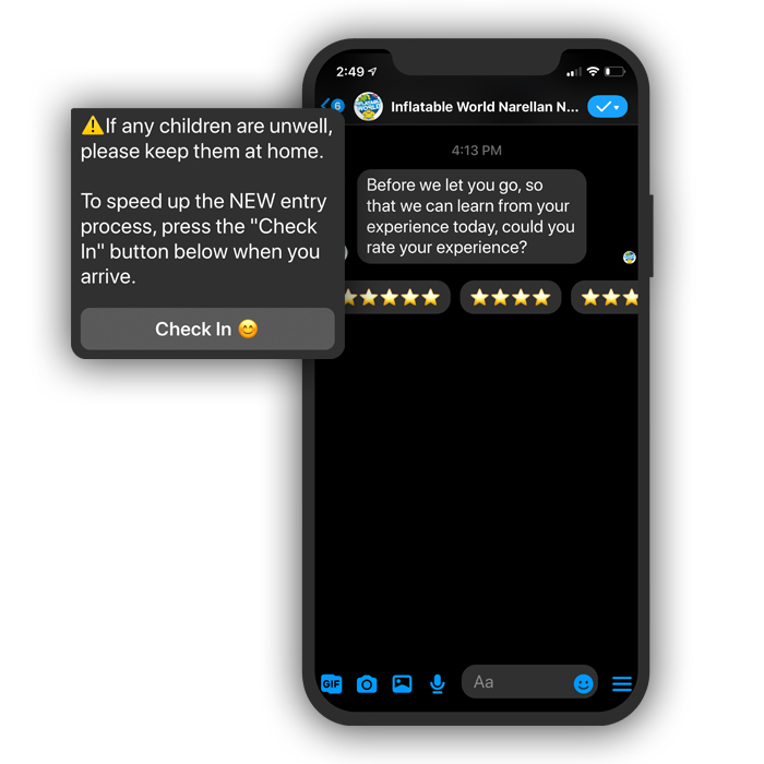 Messenger Marketing Rate Us